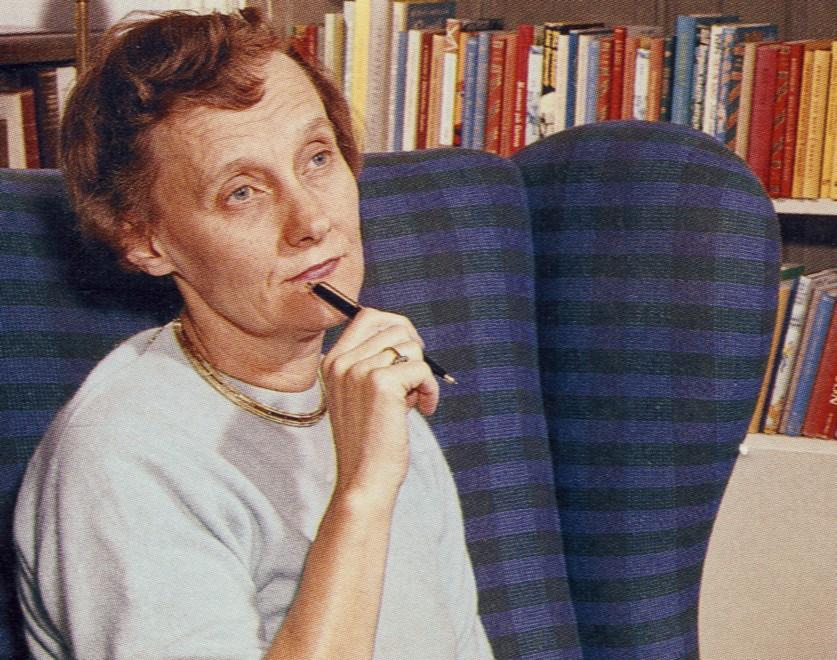 «Lindgren 1960» av Ukjent - Astrids bilder. Lisensiert under Offentlig eiendom via Wikimedia Commons - https://commons.wikimedia.org/wiki/File:Lindgren_1960.jpg#/media/File:Lindgren_1960.jpg