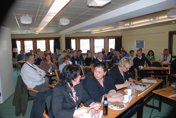 Setesdalskonferansen 2009 var på Hovden Høyfjellshotell. Foto: Knut på Bø