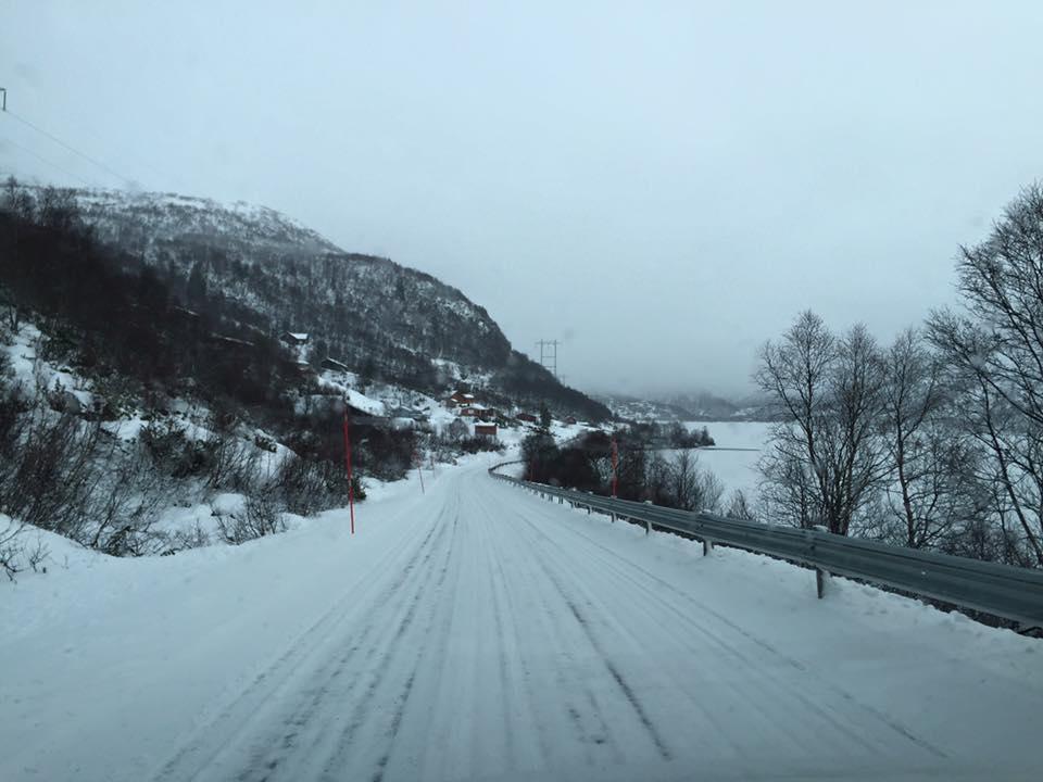Når folk er på hyttene ved Bjørnevatn, er det triveleg å kunne høyre på Valle Radio. Foto: Britta Lise Homme