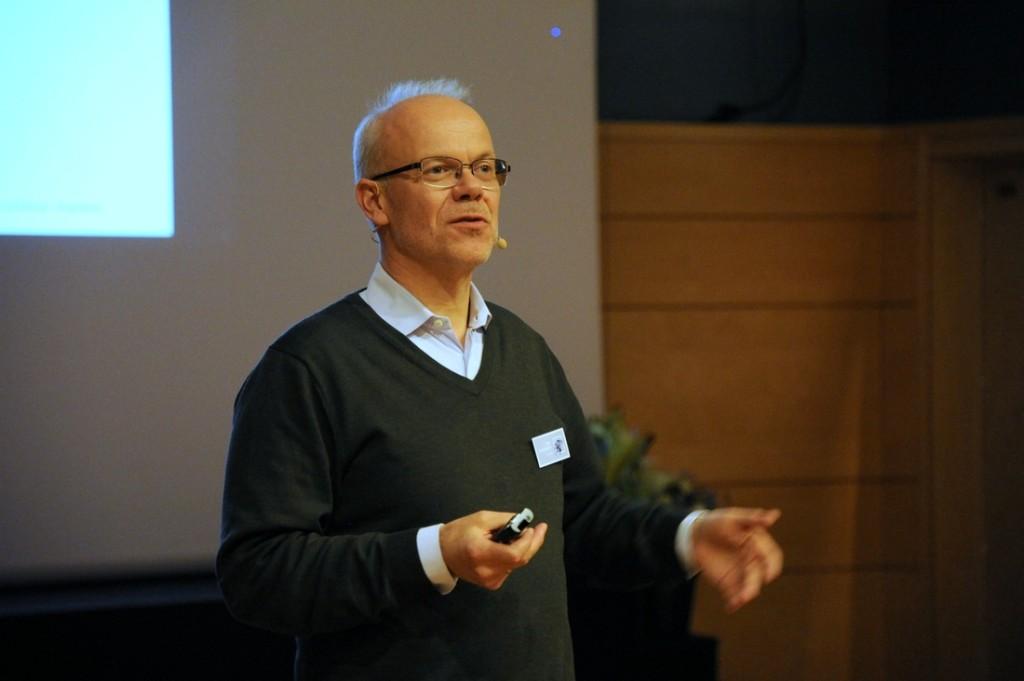 Jan Grønbech på Setesdalskonferansen 2016. Foto: Styrk Fjærtoft Trondsen