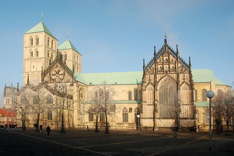 I morgon kjem musikken i Postludium frå denne kyrkja, Paulusdom i Münster. Foto: Guido Gerding/Wikipedia Commons