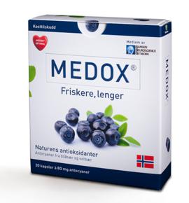 Ettersom jeg ikke tok noen bilder på treffet, får jeg bruke et bilde av Medox-esken vi fikk.