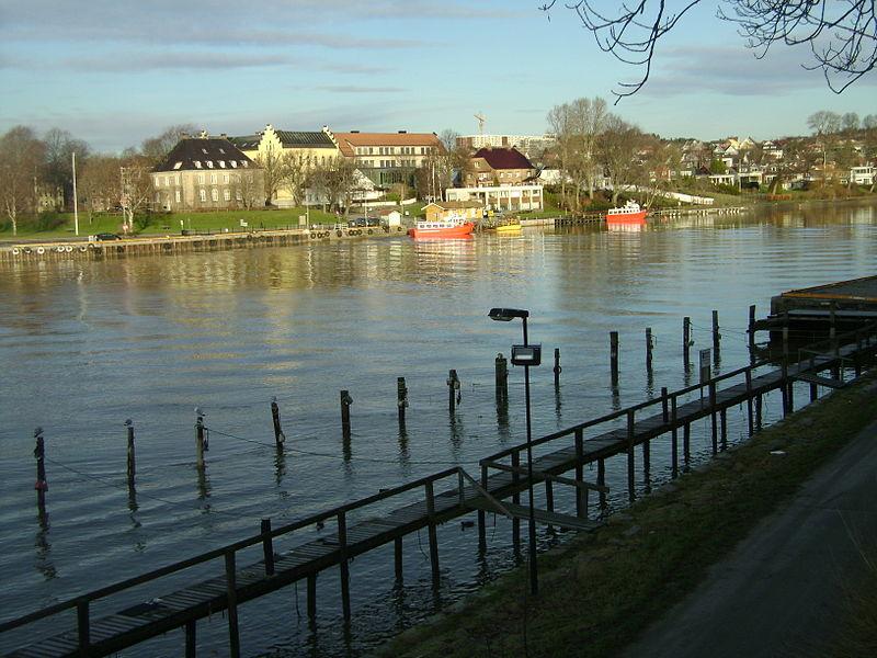 Parti fra Fredrikstad. Foto: Wikimedia commons