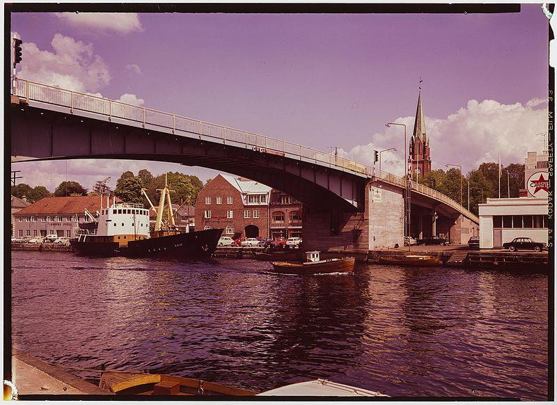 Parti frå Fredrikstad. Foto: Wikipedia Commons/Nasjonalbiblioteket