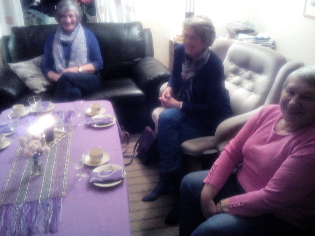 Fra venstre: Marit Frivoll, Jean Pettersen og Reidun Haugland